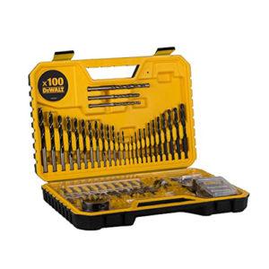 Dewalt DT71563 100 pcs  Combination Drill Bit Set 13 Wood Bits / 12 Metal Drill