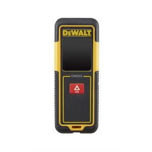 Dewalt DW033 Laser Distance Meter - 30 Metres / 100 Feet